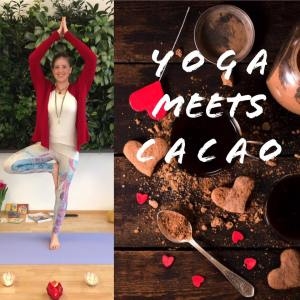 Yoga meets Cacao